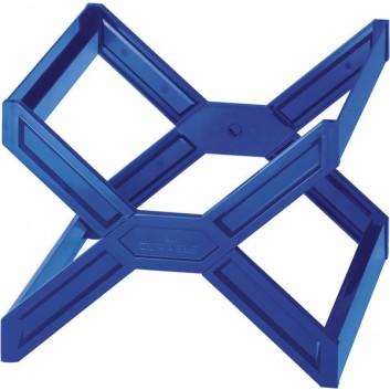 DURABLE Hängekorb CARRY® PLUS; blau; 362 x 260 x 320 mm (B x H x T); Polystyrol; 30 Mappen; stapel-, zusammenklappbar