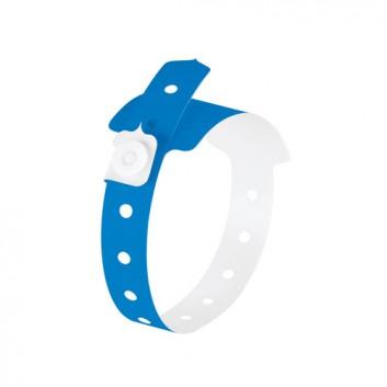 Sigel Identkontroller Armband; blau; wasserbeständig;  inkl. Etiketten; PE, reißfest; 260  x22 mm