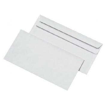 1000 Briefumschläge DIN lang 220 x 110 mm selbstklebend SK ohne Fenster weiss